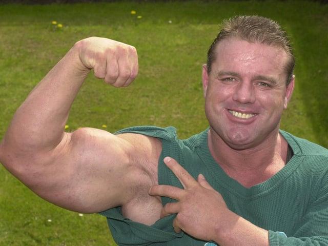 Davey Boy Smith on a trip home to Wigan