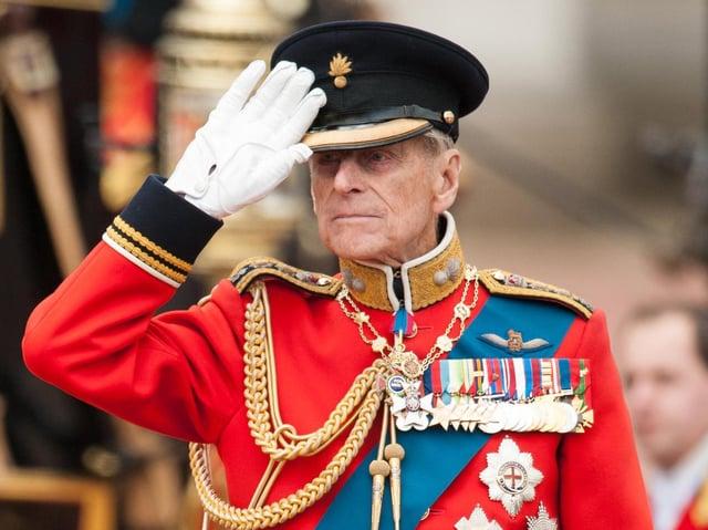 The Duke of Edinburgh has died, Buckingham Palace has announced.