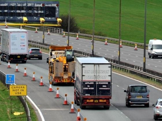 Work has begun on the new stretch of smart motorway on the M6 between Ashton and Warrington, despite growing calls for the roll-out to be scrapped