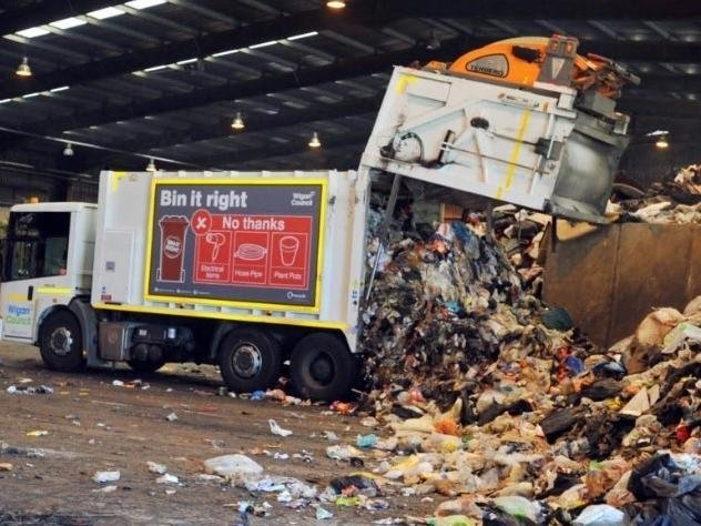 The Makerfield Way recycling depot