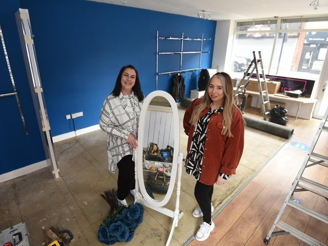 Good friends Hayley Lynch and Sarah Lichter,  right, have gone into business together