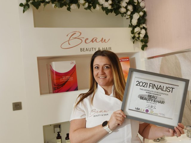 Stacey Edwards of Beau Beauty and Hair in Ince