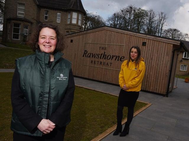 Millennium Homecare registered manager Tish McKee and Katie Salisbury