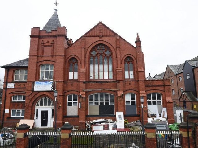The former King Street school in Leigh