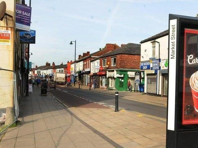 Atherton town centre