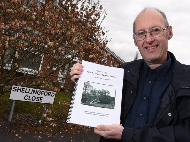 Mark Dowding in Appley Bridge near where Finch House used to stand