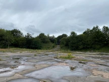 The proposed brownfield site off Bradley Lane, Standish