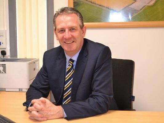 Lowton High School's headteacher Kieran Larkin