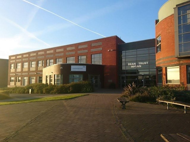 The library is located at Dean Trust Wigan
