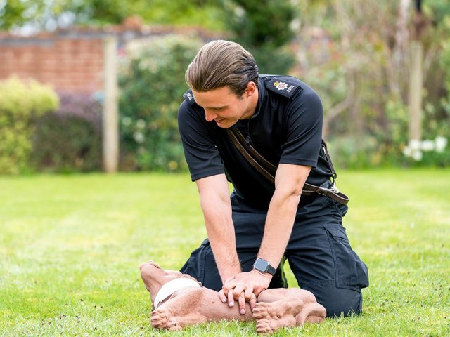 The first ever nationwide campaign to provide free dog first aid support to the UK's police forces launches today