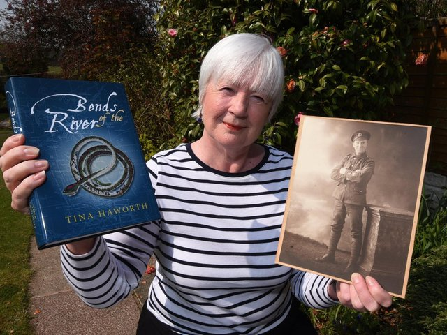 Christine Booth has penned family history book Bends In The River
