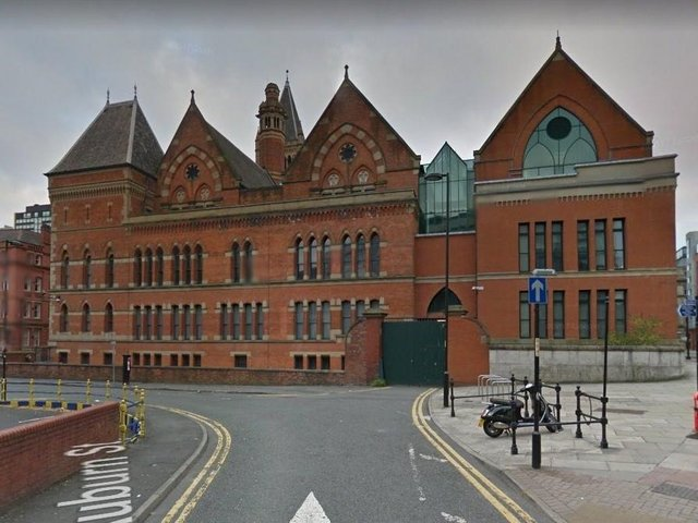 Manchester Minshull Street Crown Court. Pic: Google Street View