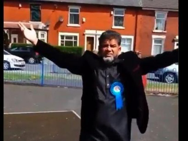 Tiger Patel – the Conservative candidate for the Audley and Queen's Park ward