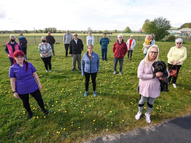 Residents want to prevent open land on York Street in Leigh being built on