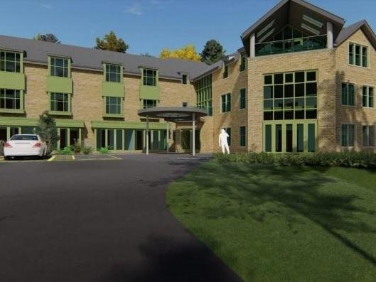 Artist's impression of how the new home could look