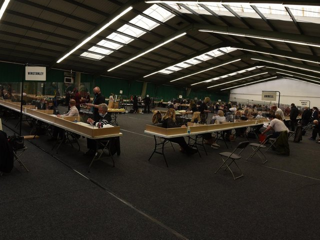 The count at the Robin Park Tennis Centre