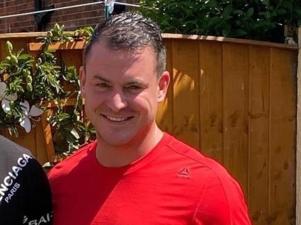 Steven McMyler died in Wigan Parish Church gardens in August 2020