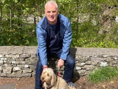 Barry Frost and his pet Maisy were both attacked by the dog