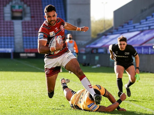 Bevan French made a two-try return to action this year