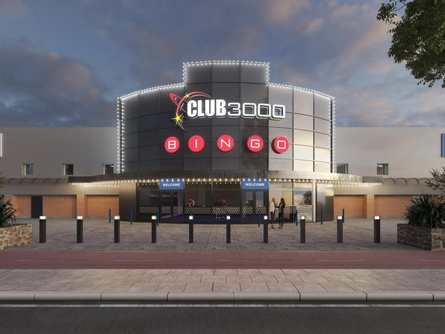 An artist's impression of what the new Club 3000 venue will look like in July