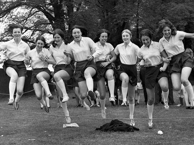 Ashton Grammar School sports stars in 1971