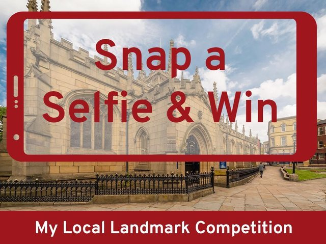 Snap a selfie at your favourite Wigan landmark