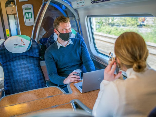 Avanti West Coast is introducing a new class of travel on the West Coast Main Line, linking the north west with Scotland and London. The new Standard Premium class sits between Standard and First, and customers will enjoy roomier seats, greater space and a guaranteed table.