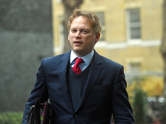 Secretary of State for Transport Grant Shapps. Control of trains and track will be brought under a new public sector body named Great British Railways (GBR) as part of sweeping reforms, the Department for Transport has announced.