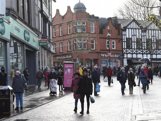 The money will be spent in Wigan town centre