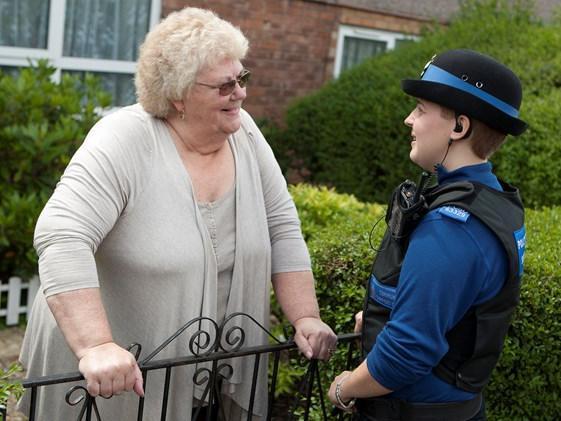 The number of burglaries has decreased in Wigan