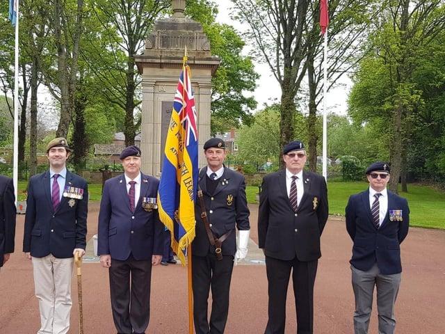 Members of Atherton's Royal British Legion branch