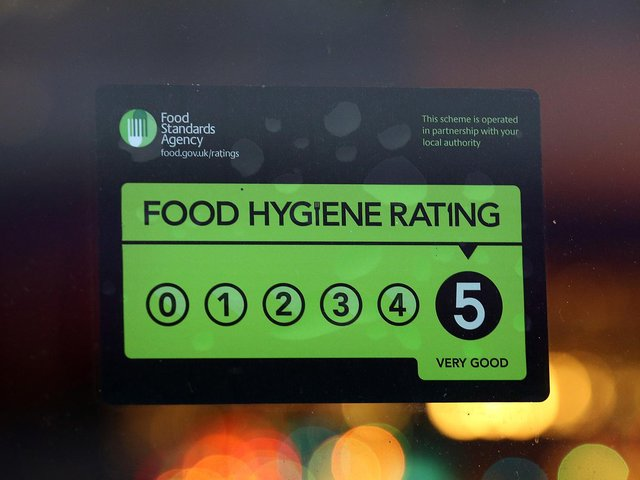 Here are the latest Food Standards Agency - Food hygiene ratings.