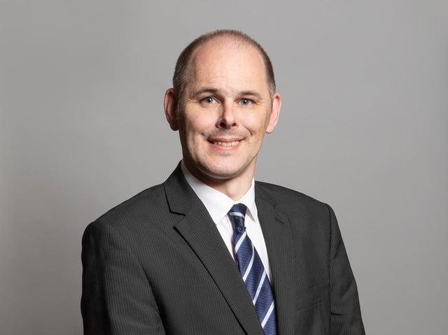 Leigh MP James Grundy
