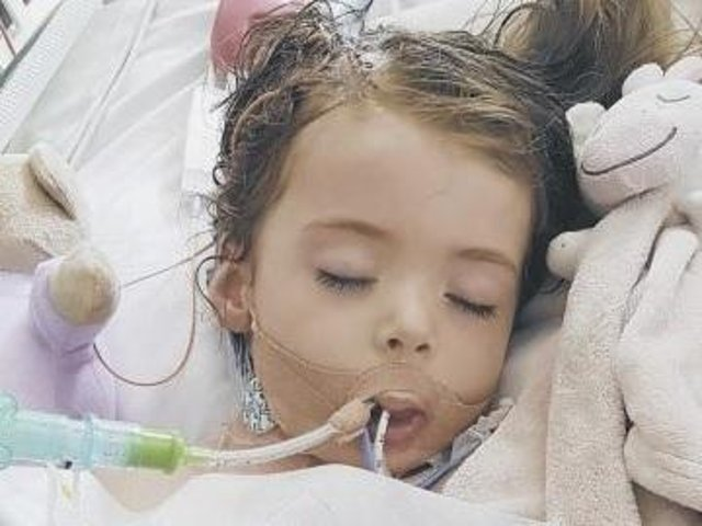 Allie Birchall had to be put on life support after falling ill but didn't survive