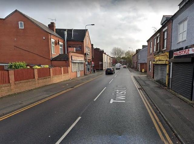 Twist Lane in Leigh. Pic: Google Street View