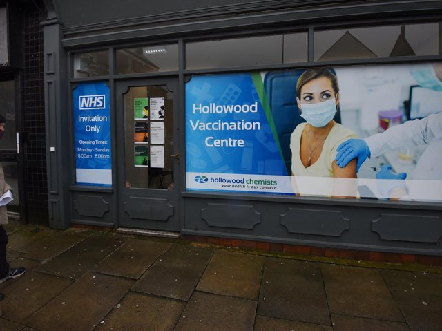 A Wigan pharmacy is providing Covid-19 vaccines this afternoon without the need for an appointment.