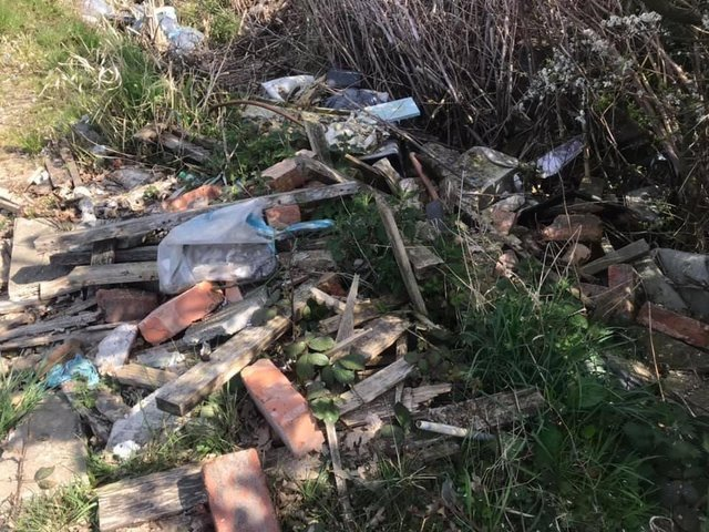 Fly-tipping in Wigan