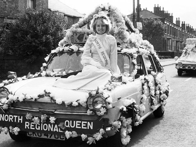 Hindley Green Bethel Independent Methodist Church gala day parade in 1974