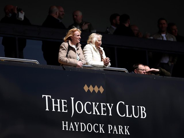 Haydock Park racecourse stages the headline meeting on Saturday afternoon