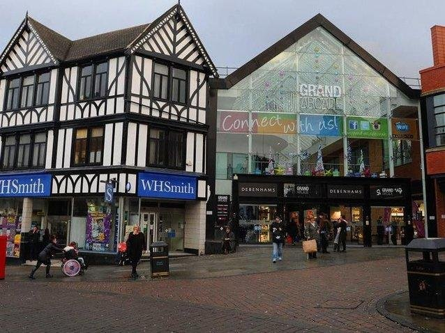 A man has been banned from visiting several Wigan retail centres including the Grand Arcade