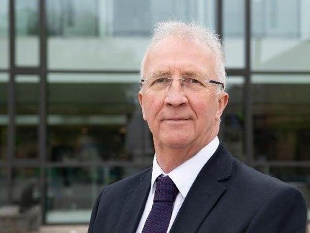 Wigan Council leader Coun David Molyneux