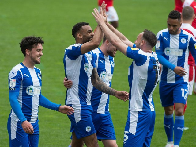 The bookies don't expect Wigan Athletic to be involved in a promotion race next season, but Latics aren't being tipped to go down either (Photo: Bernard Platt)