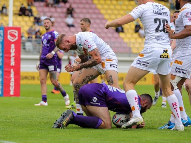 Joy for Sam Tomkins against his former club
