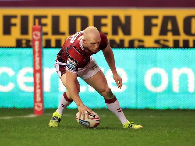 Liam Farrell touches down earlier this season
