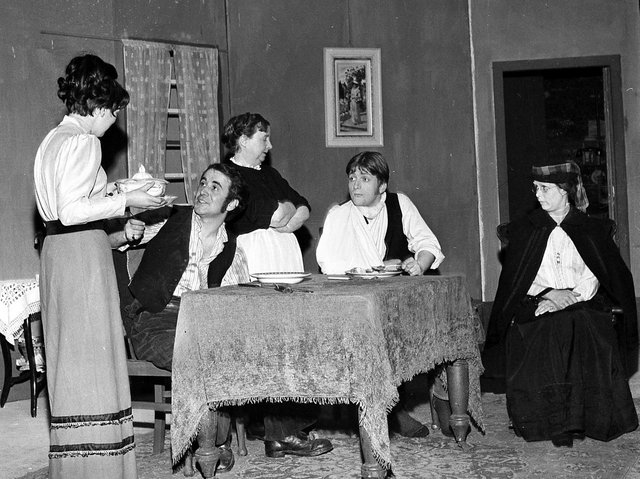 Wigan Little Theatre  production of the play  'Daughter in Law' in 1970