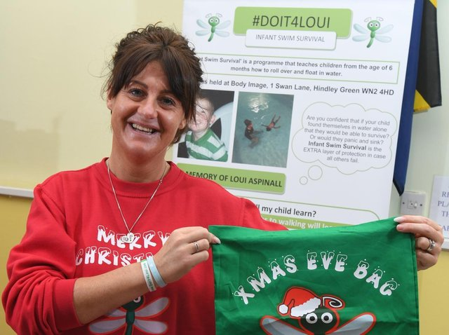 Emma Aspinall started DoIt4Loui in memory of her son