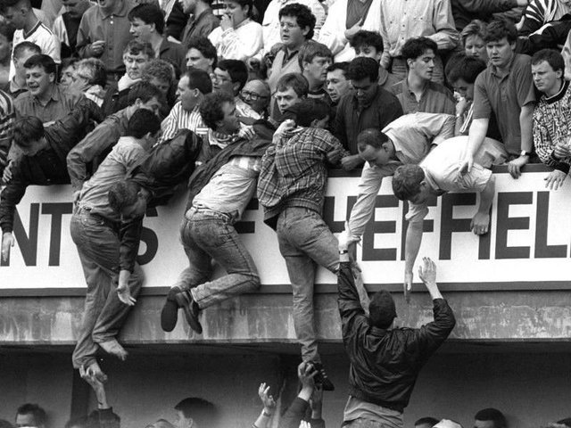 The Hillsborough tragedy unfolds in 1989