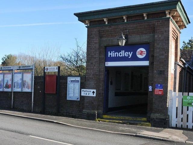 Hindley station