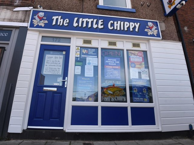The Little Chippy in Tyldesley