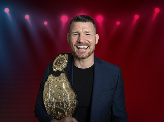 Michael Bisping is in the UFC Hall of Fame